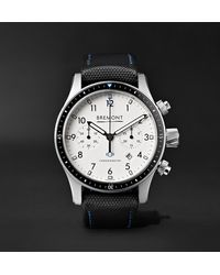 Bremont - Boeing Model 247 Automatic Chronometer 43mm Stainless Steel Watch, Ref. No. Model247/wh/ss - Lyst