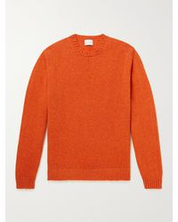 Kingsman Virgin Wool Jumper - Orange