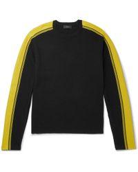 JOSEPH - Striped Wool Sweater - Lyst