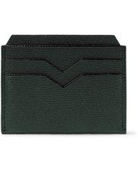 Valextra - Pebble-grain Leather Cardholder - Lyst
