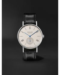 Nomos Glashütte Ludwig Neomatik 39 Limited Edition Automatic 38.5mm Stainless Steel And Leather Watch, Ref. No. 250 - White