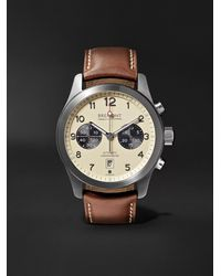 Bremont Alt1-c/cr Automatic Chronograph 43mm Stainless Steel And Leather Watch, Ref. No. Alt1-c/cr - Multicolour