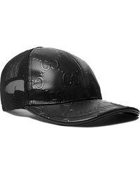 Gucci Off The Grid GG Supreme Canvas Baseball Cap - Black