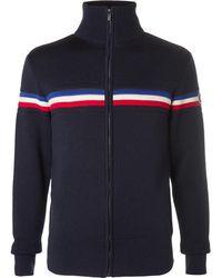 Fusalp - Wengen Merino Wool Zip-up Sweater - Lyst
