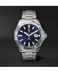 Tag Heuer - Aquaracer Automatic 40.5mm Steel Watch - Lyst