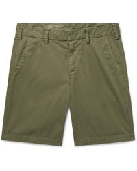 Slim-fit Cotton-twill Shorts SAVE KHAKI UNITED Big Sale Cheap Price Free Shipping Popular Sale Manchester Cheap Sale Discounts Prices Sale Online EIGFOK6