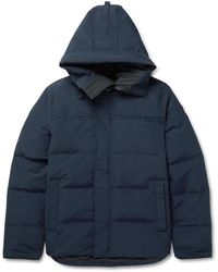Canada Goose Macmillan Quilted Shell Hooded Down Parka - Blue