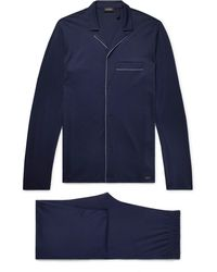 Hanro - Narius Cotton-jersey Pyjama Set - Lyst