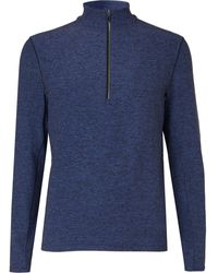 lululemon athletica Surge Rulu Half-zip Running Top - Blue