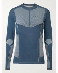 Salomon Primo Warm Stretch-jersey T-shirt - Blue