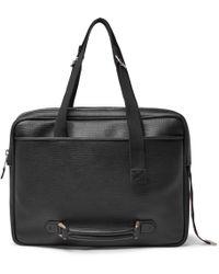 Maison Margiela - Textured-leather Messenger Bag - Lyst