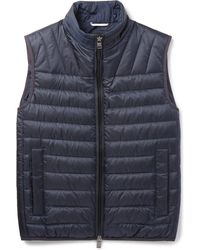 BOSS   Darano Quilted Water-repellent Shell Down Gilet   Lyst