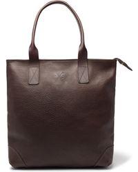 Bennett Winch - Full-grain Leather Tote Bag - Lyst