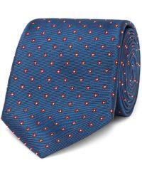 Canali - 8cm Floral Silk-jacquard Tie - Lyst