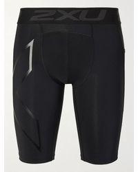 2XU Accelerate Stretch-jersey Compression Shorts - Black