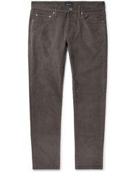 J.Crew - Slim-fit Stretch-cotton Corduroy Trousers - Lyst
