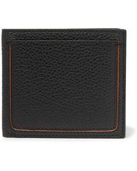 Ermenegildo Zegna Full-grain Leather Billfold Wallet - Black