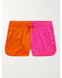 CDLP Cuixmala Two-tone Short-length Econyl Swim Shorts - Pink