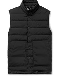 Moncler Quilted Shell Down Gilet - Black