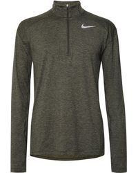 Nike - Element Space-dyed Dri-fit Half-zip Top - Lyst
