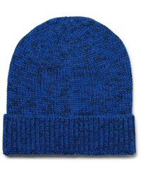 Outerknown - Layover Mélange Baby Alpaca And Organic Cotton-blend Beanie - Lyst