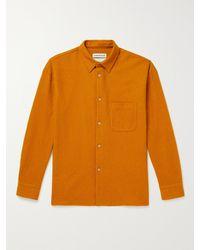 A Kind Of Guise Gusto Virgin Wool Shirt - Orange
