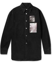 Raf Simons - Oversized Shirt Jacket - Lyst