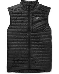 Arc'teryx Cerium Sl Quilted Shell Down Gilet - Black