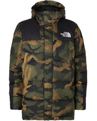 The North Face Deptford Quilted Shell Hooded Down Jacket - Green