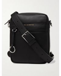 WANT Les Essentiels Reagan Leather Messenger Bag - Black