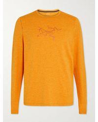 Arc'teryx Cormac Logo-print Ostria T-shirt - Orange
