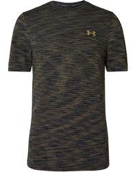 Under Armour Vanish Seamless Space-dyed Heatgear T-shirt - Green