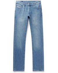 Peter Millar Slim-fit Denim Jeans - Blue