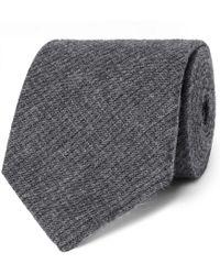Oliver Spencer - 8cm Mélange Cotton-jacquard Tie - Lyst