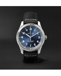 Breitling - Navitimer 8 Automatic Chronometer 41mm Steel And Leather Watch - Lyst