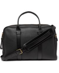 Tom Ford Full-grain Leather Briefcase - Black