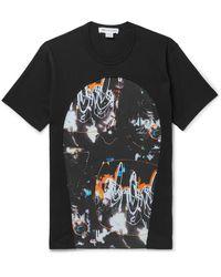 Comme des Garçons - Printed Cotton-jersey T-shirt - Lyst