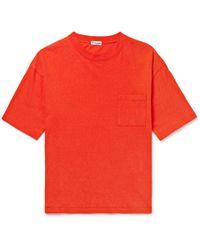 Camoshita Cotton-jersey T-shirt - Red