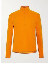 Arc'teryx Delta Lt Slim-fit Polartec Fleece Mid-layer - Orange