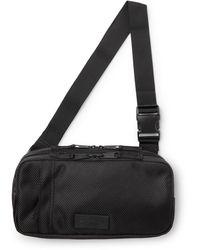 Eastpak Ty Cnnct Coated-canvas Belt Bag - Black