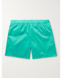 Acne Studios Warrick Mid-length Swim Shorts - Green