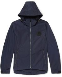 Burberry - Logo-appliquéd Padded Nylon Hooded Jacket - Lyst