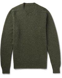 Anderson & Sheppard | Shetland Wool Sweater | Lyst