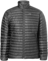 Arc'teryx Cerium Sl Packable Quilted Shell Down Jacket - Gray