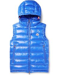 Moncler - Lanoux Quilted Shell Hooded Down Gilet - Lyst