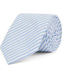 Mr Start Cotton Tie - Blue