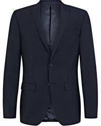 Mr Start Rivington Mini Peak 2pc Suit - Blue