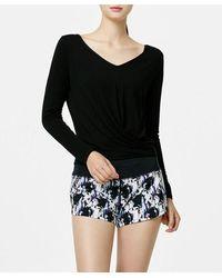 Acqua de Luxe Beachwear Fast And Free Shorts - Black