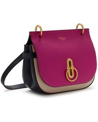c18bb315de4e Lyst - Mulberry Small Darley In Midnight Silky Calf Geo Floral 3d ...
