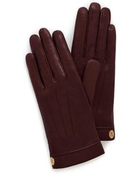Mulberry Soft Nappa Leather Gloves - Multicolour